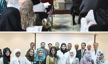 College of Pharmacy Students Conclude Internship at Al Ain Hospital