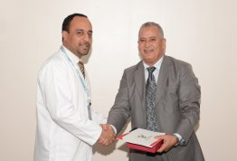 The College of Pharmacy at Al Ain University Honors Strategic Partners in the Training Program for College Students
