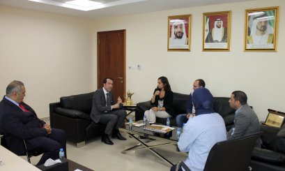 A Delegation from Bareen Hospital Visits AAU