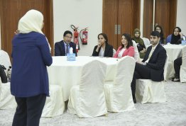 Informative workshop about Pharmacy Career Exhibition