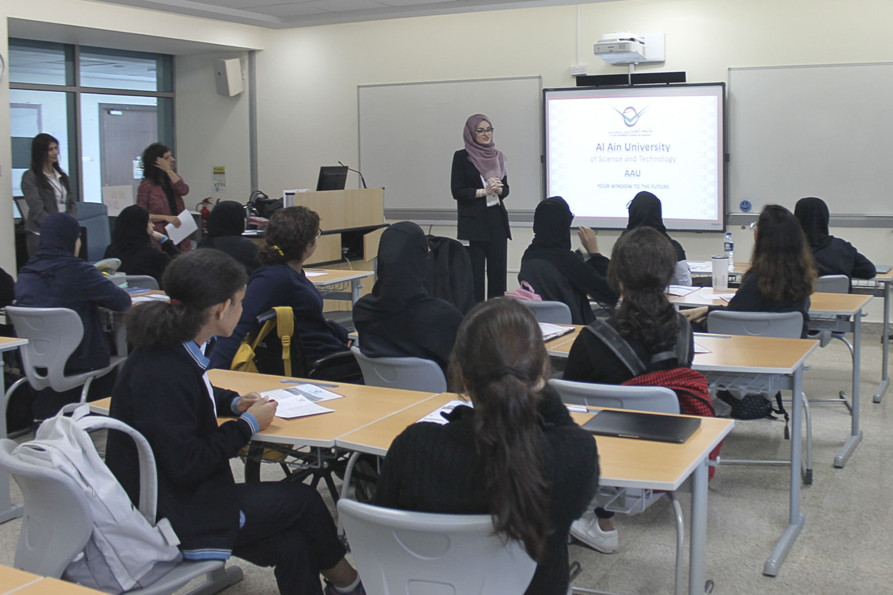 Workshop about accounting at ADNOC by AAU - Al Ain University