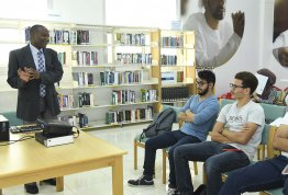 Library Orientation for freshmen students