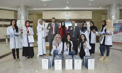 Pharmacy students celebrated the World Pharmacists Day Delightfully