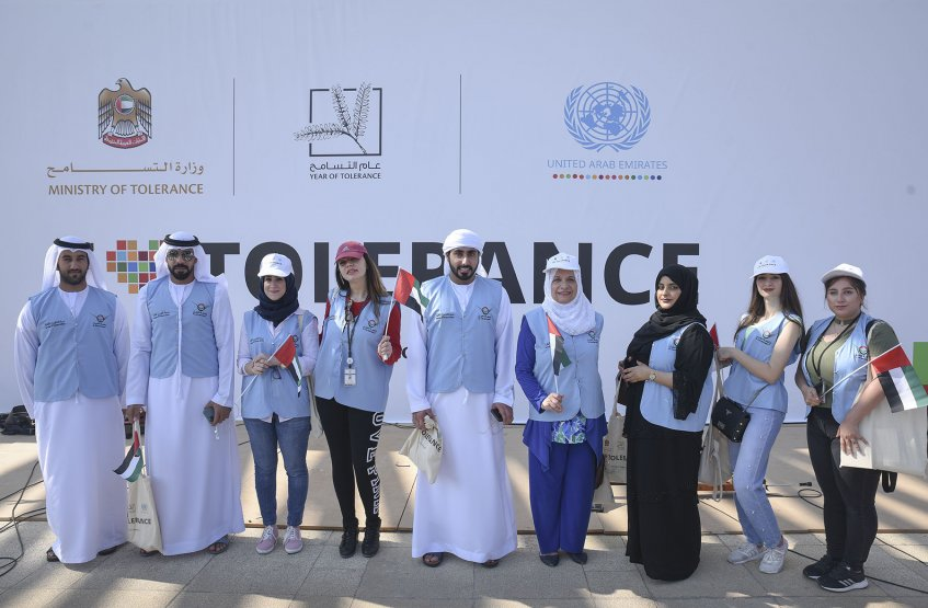 Walk for Tolerance in the UN Day