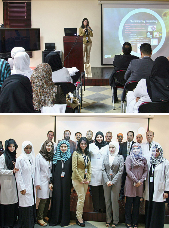 college of pharmacy students conclude internship at al ain